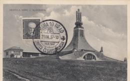 AK - (Tschechien)  PRAGER HÜGEL - Friedensdenkmal F/d Opfer Der Schlacht Bei Austerlitz 1937 - Tschechische Republik