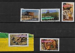 2003  France  N°  3560 3562 3564 3561 3567 ( Bf 57 ) Obl.  La France à Vivre N°1. . - France