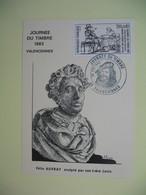 Carte  - Journée Du Timbre  1983  Valenciennes - Storia Postale