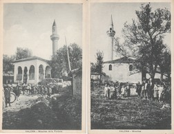 2 CPA  ALBANIE VALONA MOSCHEA DE LA FONTANA - Albanie