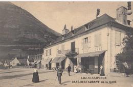 LUZ-SAINT-SAUVEUR: Café-Restaurant De La Gare (publicité) - Luz Saint Sauveur
