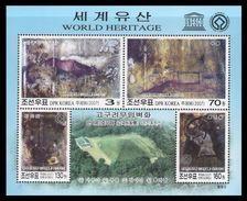 North Korea 2007 Mih. 5193/96 (Bl.667) UNESCO World Heritage. Mausoleum Of King Ko KuK Won MNH ** - Corée Du Nord
