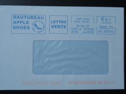 Chaussures Shoes Pont St-Martin 44 Loire Atlantique - EMA Sur Lettre Slogan Meter On Cover - Textile