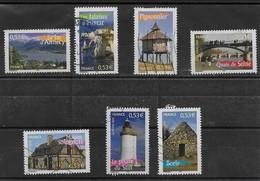 2005  France  N°  3814 3815 3816 3818 3820 3822 3823 Oblit ( Bf 89  La France à Voir N°6 ) - France