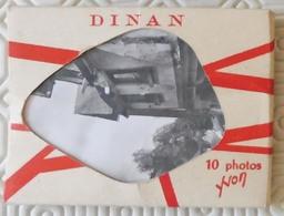 Cn7.j- 22 Dinan -  Carnet De 10 Vues Photos 6.5x9 - Dinan