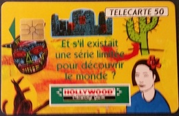 Telefonkarte Frankreich - Werbung - Gum - Kaktus - 50 Units - 01/92 - Frankreich