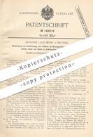 Original Patent - Adolphe Chaumont , Brüssel , 1901 , Bremsgestänge An Luftbremsen | Bremse , Bremse | Automobil !! - Historische Dokumente