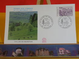 Vallée De Munster - 68 Munster - 6.7.1991 FDC 1er Jour N°1752 - Coté 2,70€ - FDC