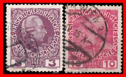 AUSTRIA (ÖSTERREICH) SELLOS AÑO 1908 THE 60TH ANNIVERSARY OF THE REIGN OF EMPEROR FRANZ JOSEF I - 1918-1945 1. Republik