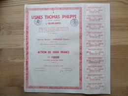 Usines Thomas Philippe à Cul-des-Sarts - Agriculture