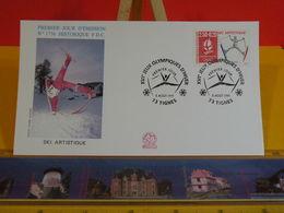 Jeux Olympiques D'Hiver ( Artistique) - 73 Tignes - 3.8.1991 FDC 1er Jour N°1756 - Coté 3€ - FDC