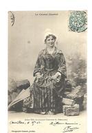 15 Aurillac Costume Jeune Fille Auvergnate 1903 - Unclassified
