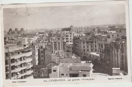 DAV : Maroc :  Casablanca  : Les  Grands  Immeubles  , Photo  Flandrin  ( Pour  Genillé ) - Casablanca