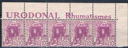 Algérie N° 38a** Provenant De Carnet, Cote 75.00€ - Algérie (1924-1962)