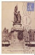 CPA - BRUGES - La Statue De Breidel Et De Coninc - Brugge