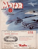 MOTOR REVUE 1951 Champion Panhard Studebaker Ford Good Year Shell Dunlop  Impéria FN Gillet Esso ... - Auto