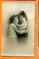 Man961, Enfants Amoureux, Circulée 1912 Sous Enveloppe - Phantasie