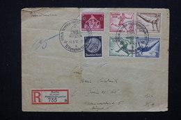 ALLEMAGNE - Enveloppe En Recommandé De Berlin Olympiades En 1936 , Affranchissement Plaisant - L 22678 - Allemagne
