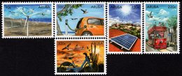 Aruba - 2018 - Sustainable Energy - Mint Stamp Set - Niederländische Antillen, Curaçao, Aruba
