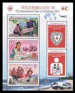 North Korea 2011 Mih. 5710/12 (Bl.800) International Year Of Volunteers. Cur. Truck. Ships. Lighthouse MNH ** - Corée Du Nord