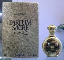 PARFUM SACRE - EDP 3 ML De CARON - Miniatures Modernes (à Partir De 1961)