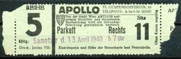 Österreich -  Eintrittskarten  Wien  Apollo  Kino - Eintrittskarten