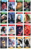 Lot 16 Cartes Star Wars (Leclerc 2018) - Star Wars