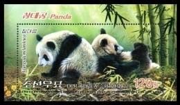 North Korea 2012 Mih. 5950 (Bl.853) Fauna. Pandas MNH ** - Corée Du Nord