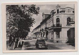 6337 Ukraine Ternopil Ternopol  Lenin Street With A Car - Ukraine