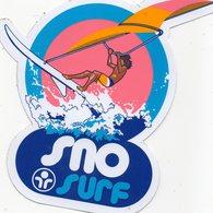 Autocollant SURF - Aufkleber