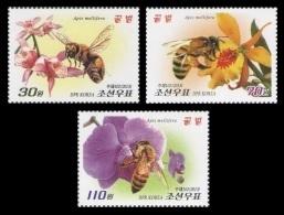 North Korea 2013 Mih. 6002/04 Fauna. Bees MNH ** - Korea, North