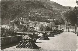W1052 Monaco - Les Vieux Canons De La Place Du Palais / Viaggiata 1957 - Palazzo Dei Principi