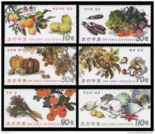 North Korea 2014 Mih. 6059/64 Vegeatables, Fruits And Mushrooms MNH ** - Korea, North