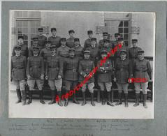 1934-VERDUN- 39e R-officiers--Tous Nommés-1 Grande Photo En Recto Et Manoeuvres Au Verso - Krieg, Militär