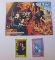 Uganda  Albrecht Dürer Block U. Marken  Xx  1966  ♥ (4919) - Ouganda (1962-...)