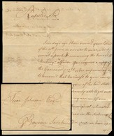 USA. 1799 (14 July). Baton Rouge - Bayeau Sarah. SPANISH LOUSIANA. EL Full Text. Before Any Established Mail Route, Henc - United States