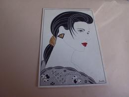 BELLE ILLUSTRATION ...LES ANNEES 80 ...JUDITH - Illustrateurs & Photographes