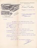 Louis Crétin A Charlieu(loire) Graines Fourragéres Et Potagéres - Agriculture