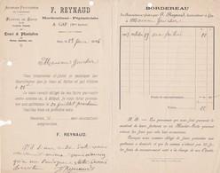 F. Reynaud Horticulteur-pépiniériste A Gap 1904 - Agriculture