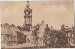 MONS   Le Square St Germain Et Le Beffroi - Mons