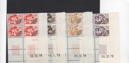 Coins Datés > Préoblitérés-N°158/161 - Prematasellados
