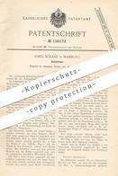 Original Patent - Johs. Schaar , Hamburg , 1899 , Salzstreuer | Salz - Streuer | Gewürze , Pfeffer , Haushalt !! - Historische Dokumente