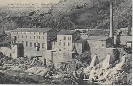 SAINT SAUVEUR DE MONTAGUT Le Barrage ,moulinage De Soie Usine D'électricité Pour St Sauveur, Vernoux Et Chalençon - France