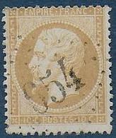 Charente Inférieure - G.C. 654  De  Brouage - Marcophilie (Timbres Détachés)