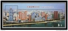 North Korea 2015 Mih. 6251/52 (Bl.904) Mirae Scientists Street MNH ** - Korea, North