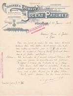 Graines Et Engrais Jugeat-paturet A Moulins 1906 - Agriculture