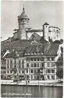 W1058 Schaffhausen Mit Munot / Viaggiata 1959 - SH Schaffhouse