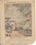 Couverture De Cahier - Eruption Du  Vésuve ( Aout 79) - Schuehmacher - Protège-cahiers