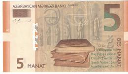 Azerbaijan 5 Manat 2017 P32b UNC - Azerbaïjan