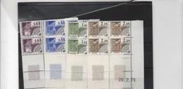 Coins Datés > Préoblitérés-N°162/165 - Prematasellados